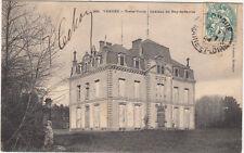 TREIZE-VENTS 266 château du puy-de-sèvres timbrée 1904