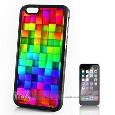 ( For iPhone 4 / 4S ) Back Case Cover P30126 Rainbow Design