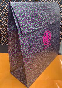"NEW Tory Burch XLarge Gift Logo Bag Box Flap Instant Closure 16""L x 16""H x 6""W"