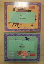 Sierra Leone Disney Lion King Pumbaa & Timon Imperf Souv. Sheet 200 Sets - Mnh