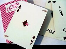 """YES JOKERS"" (55 CARD DECK OF PLAYING CARDS CLOSED SANDS CASINO ATLANTIC CITY NJ"