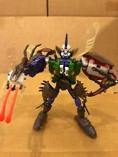Transformers Beast Wars Tripredacus (1997) by Hasbro w/ box and instructions