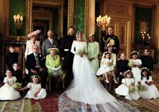 Royal Wedding Harry and Meghan Markle Family Portrait POSTER
