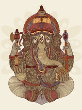 Valentina Ramos - Ganesha - Ready Framed Canvas 40x50cm