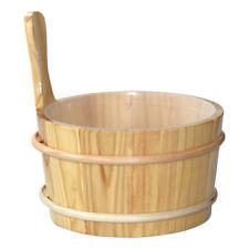 Finnsa Sauna-Kübel 4l, Kiefer lackiert, Kunststoffeinsatz