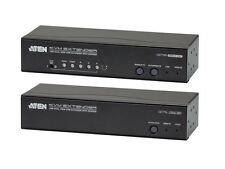 Aten CE775 USB VGA Dual View Cat 5 KVM Extender with Deskew