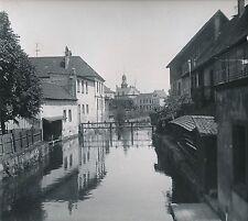 SAVERNE c. 1900-20 - Maisons le long du Zorn  Écluse  Bas-Rhin  DIV 7260