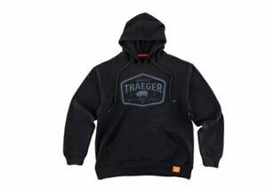 """Traeger Pellet Smoker Certified Black Hoodie  """"LARGE Size"""""""