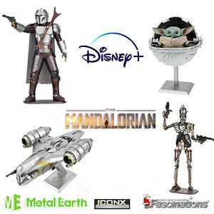The Mandalorian Metal Earth ICONX Premium Series 3D Model Kit Star Wars UK New