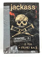 Coffret 3 DVD Jackass Le Film + Les Volumes 2 et 3
