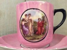 Pink Lustre Vintage Cup and Saucer