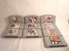 N64 Sports games (10 games) NBA, NFL & NHL