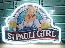 "New St Pauli Girl Beck's Bremen Beer Lager Neon Light Sign 17""x14"""