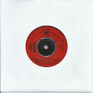 "Scott McKenzie - San Francisco (Sure To Wear Some Flowers.) 7"" Vinyl Single 1967"