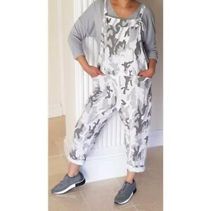 Camouflage Adjustable Dungarees     One Size (10-16) ONLY £17.00