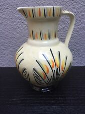 Vintage Collectible Art Deco Myott & Son Hand painted Jug