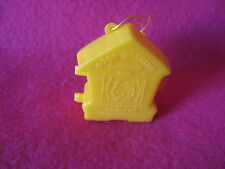 SANRIO HELLO KITTY TRINKET/ORNAMENT TOOTHBRUSH HOLDER YELLOW VINTAGE '76/'85 NEW