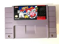 Kirby's Dream Course SUPER NINTENDO SNES GAME Tested + Working & Authentic!
