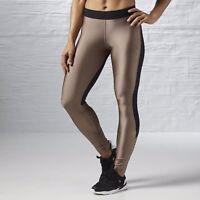 New Women's REEBOK Cardio Moondust Black Tight - S93756 MSRP $70