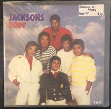 MICHAEL JACKSON VINYL LP ORIGINAL - BODY EXTENDED SINGLE - RARE UK IMPORT COVER