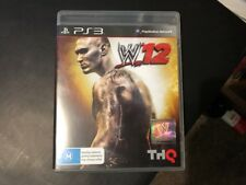 WWE 12 PS3 Game