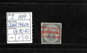 (59291) HONDURAS CLASSIC STAMPS #3 1877 COMAYAGUA UNUSED CAT.VL+ U$ 70,00