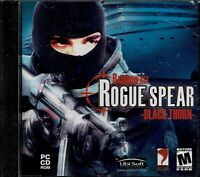 Tom Clancys Rainbow Six Rogue Spear Black Thorn New Pc XP 9 Missions 6 Multi Map