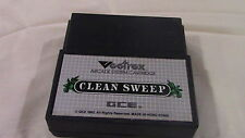 Clean Sweep Vectrex Gce Game Cartridge - Wow!