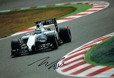 Felipe MASSA Signed Autograph Brazilian Driver 12x8 Photo Autograph AFTAL COA