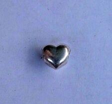 PANDORA STERLING SILVER BIG SMOOTH HEART CHARM. 790137.