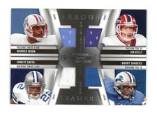 2009 NATIONAL TREASURES LEAGUE LEADERS MOON/KELLY/SMITH/SANDERS QUAD PATCH 21/99