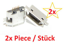 Micro mini USB Jack 5p female socket hembra instalación de haya Connector 5 pin 1 2x PC