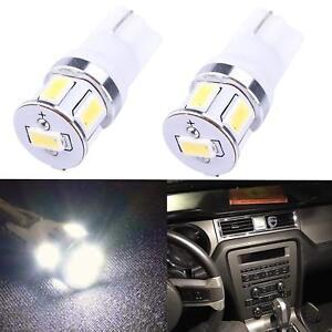 AllaLighting PC195 LED Instrument Panel Light Bulb,Rear Side Marker Bright White