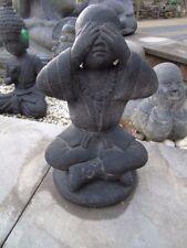 bouddha,assis statue en pierre patinée, nouveau ,bouddha sholin ...