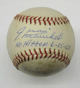 Juan Marichal Autographed  No Hitter 6/15/63 Vintage Spalding Baseball PSA/DNA
