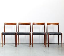 Lübke Mid-Century Dining Chairs Esszimmerstühle I Set of Four