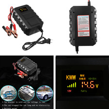 12V 20A Smart Fast Lead-acid Battery Charger for Car Motorcycle Lcd Display Us