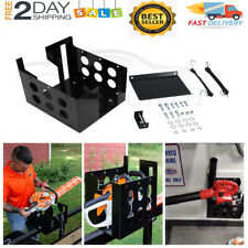 Landscape Truck Trailer Multi-Rack For Chain Saws Hedge Trimmers Handheld Blower