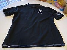Coogi Men's short sleeve polo shirt XXXL black casual cotton EUC @