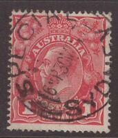 Australia SPECIAL SYDNEY postmark on 1d KGV