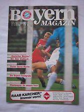 Orig.PRG   1.BL   1984/85   FC BAYERN MÜNCHEN - EINTRACHT BRAUNSCHWEIG ! SELTEN
