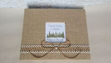 Rustic Cabin Guest Book Set- Guestbook Pen Rental Sign Home Closing Agent Gift