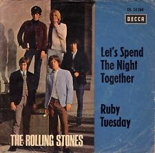 "7"" Rolling Stones – Let's Spend The Night Together / Treppencover / Germany 1967"