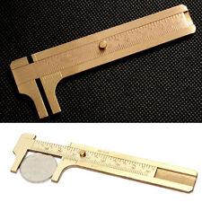 0~80mm Mini Messschieber Schieblehre Bremssattel Messgerät Mess Werkzeug Kupfer*