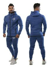 Mens Fashion Full Tracksuit Slim Fit Joggers Pants Bottoms Hoody Gym Top