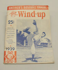 1939 Authentic The Wind-Up Magazine, America's  Baseball Annual.  Stats, Photos,