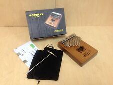 Woodman 17 Keys Wooden Kalimba MBIRA Thumb Piano w/Tune Hammer,Soft Bag-Portable