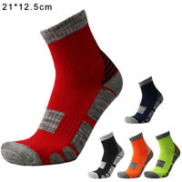 1Pairs Men Women Cushioned Sole Trainer Liner Sports Socks Running Gym Hiking
