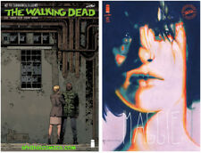 WALKING DEAD #182 A & B VARIANT COVER SET SIENKIEWICZ IMAGE COMICS KIRKMAN HOT!