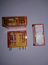 Finder 40.61.8.230.4000 Relais 230V AC 1xUM 16A 28K 250V AC Relay Print 7 Stück